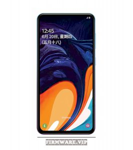 Firmware download SAMSUNG Galaxy A60 SM-A6060 A6060ZHU1ASH3 9.0